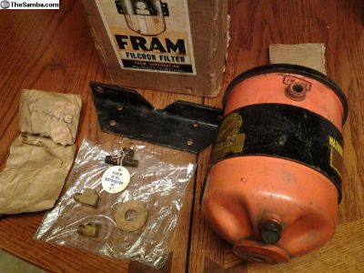 Vintage FRAM Filcron Filter With Original Box