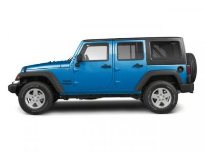 2010 Jeep Wrangler Unlimited Sport (Surf Blue Pearl)
