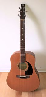 Seagull Coastline S6 Acoustic Guitar Natural + Case & New Strings