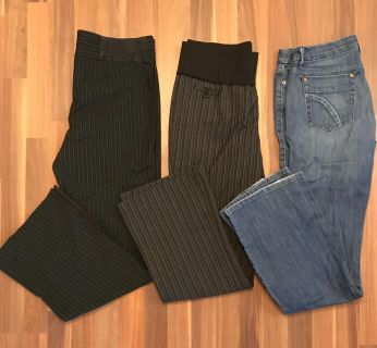 Pants and jeans size M and size 30