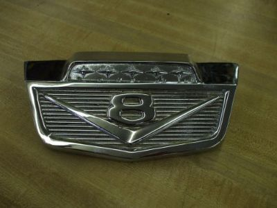 Purchase 1965 Ford chrome truck hood emblem L@@@@@@@@@@@@@@@@@@@K motorcycle in Springfield, Ohio, United States, for US $85.00