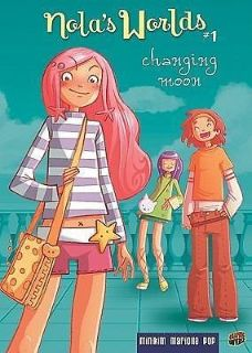 Nola's Worlds 1: Changing Moon Hard Cover Girls Comic Book Age 11 - 14 Grade 6th - 9th