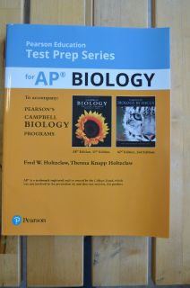 Pearson Education Test Prep Series for AP BIOLOGY 2018