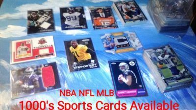 1000's Of Sports Cards Available NFL MLB NBA