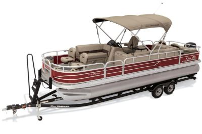 2019 Sun Tracker Fishin' Barge 24 DLX Pontoon Boats Gaylord, MI