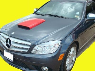 Find Mercedes C-Class Primer Hood Scoop w/ ABS Plastic Grill motorcycle in Grand Prairie, Texas, US, for US $99.99