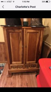 Solid wood beautiful cabinet