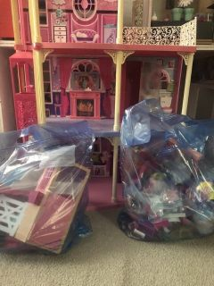 3 story Barbie House with furniture