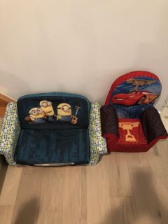 Kid couch and chair