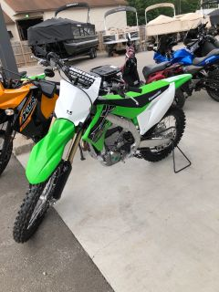 2019 Kawasaki KX 450 Motocross Motorcycles Gaylord, MI