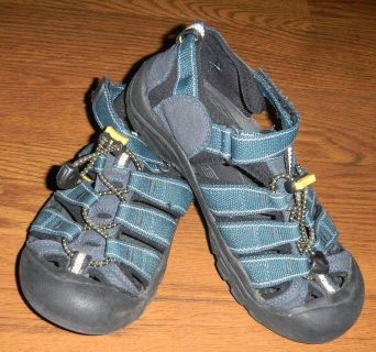 KEEN Newport H2 Boys Size 3 River Water Sandals Navy Blue Sports Shoes Youth