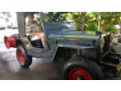 1969 Willys 439 1969 Willy's Jeep Restored 225 Dauntless V6 motor with 3 speed