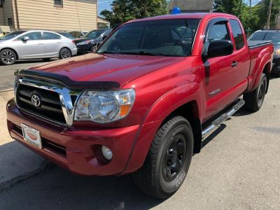 2007 Toyota Tacoma V6 (Impulse Red Pearl)