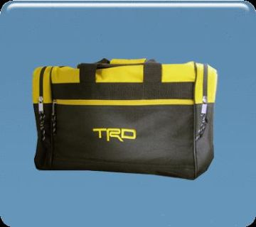 Purchase NEW Toyota Black-Gold TRD Gear-Duffel Bag motorcycle in Yuba City, California, US, for US $26.95