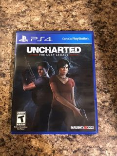 Uncharted Ps4 Lost Legacy