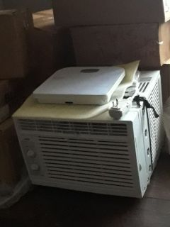 Two  portable air conditioners