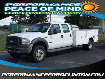 2007 Ford Super Duty F-450 DRW (White)