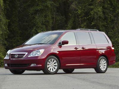 2005 Honda Odyssey EX-L (Midnight Blue Pearl)