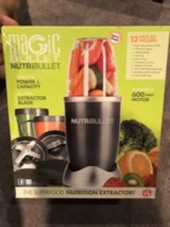 Magic bullet nutri bullet 600 watt motor