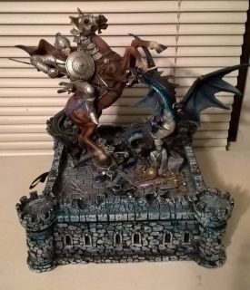Dragon Slayer Medieval Deluxe Chess Set