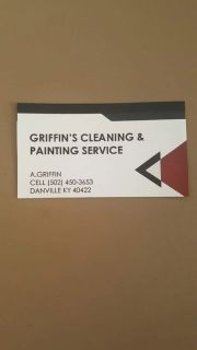 GRIFFIN'S CLEANING & PAINTING SERVICE