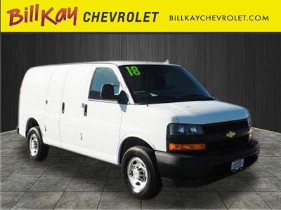 2018 Chevrolet Express 2500 Work Van (Summit White)