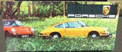 Purchase 1968 Porsche Dealer Color Sales Brochure 911 L 912 Targa Original Nice Rare motorcycle in Holts Summit, Missouri, United States, for US $36.68