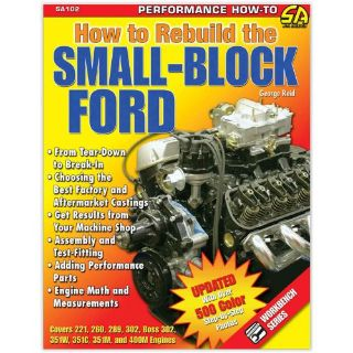 Find SA Designs SA102 Book - Ford How to Rebuild the Small Block Ford motorcycle in Atlanta, Georgia, United States, for US $17.98