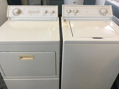 Whirlpool Washer and Dryer Set - USED
