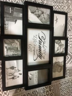 Pictures frame.
