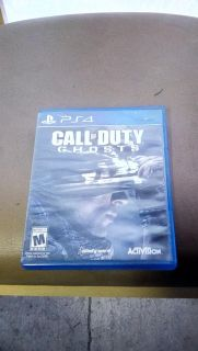 PS4 GAME CALL OF DUTY GHOST