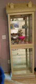Curio Cabinet: Lighted