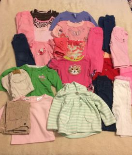 24 items Girls lot 6-9 months