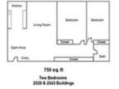 Parkside Apartments - Large Two BR One BA