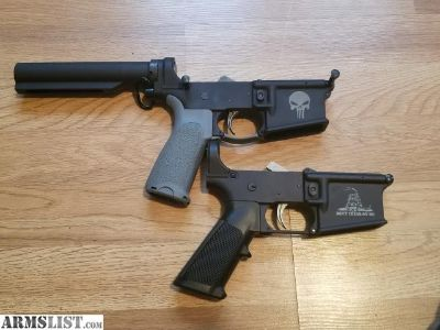 For Sale: (2) pre 7/20 AR lowers