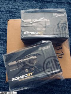 For Sale: Sig Sauer ROMEO6T Red dot BRAND NEW