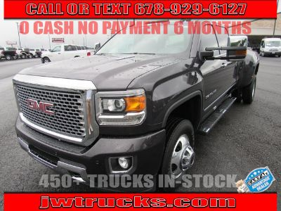 2016 GMC Sierra 3500HD Denali (Light Steel Gray Metallic)