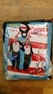 Cat in the Hat Costume XL, new