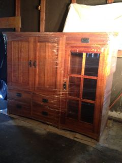 Free TV Cabinet (could make great bar!)