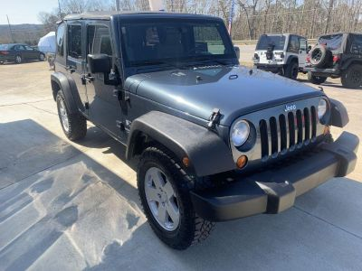 2008 Jeep Wrangler Unlimited X (Gray)