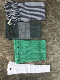 Scarves $1 and up - all for $8
