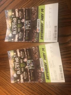 2 tickets to all race