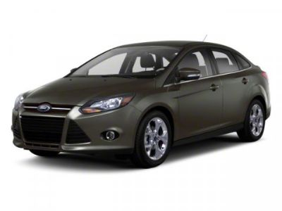 2012 Ford Focus S (BLACK)