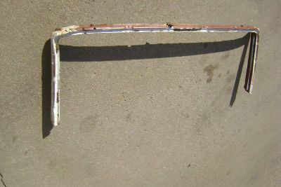 Sell 1963 63 Chevy Impala CONVERTIBLE WINDSHIELD FRAME SOLID SS 1964 64 Pontiac motorcycle in Great Bend, Kansas, US, for US $350.00