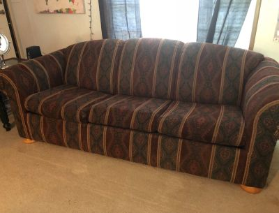 Couch (with hide-a-bed), Loveseat & Chair