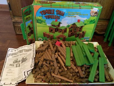 Tumble Tree Timbers wood log set Approx. 298 pieces. ($20)