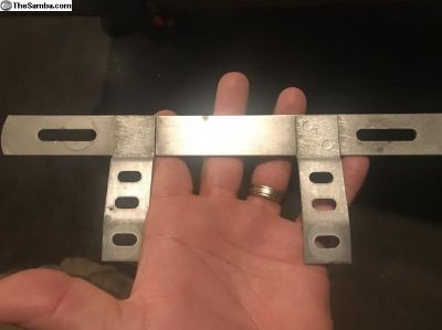License plate bracket, mint