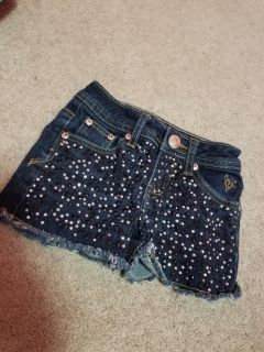 Size 6 Justice Jean Shorts $2