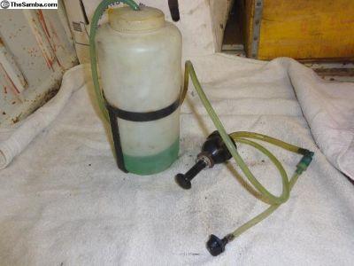 Tudor windshield washer bottle pump