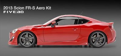 Find SCION FR-S UNPAINTED Ground Effects 4 Piece Kit 692014 Trim 2013-2014 motorcycle in Cleveland, Ohio, US, for US $1,017.39